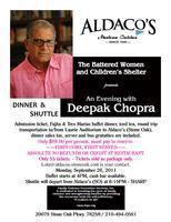 Dinner Package: Deepak Chopra