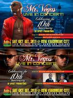 MR VEGAS LIVE IN CONCERT @ NKC