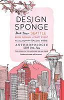Design*Sponge Book Tour: Seattle CRAFT EVENT