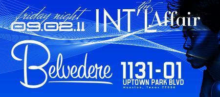 *The INT'L AFFAIR* Labor Day Weekend Event at...