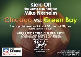 Campaign Kick-Off and Game Viewing Party