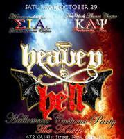 Heaven & Hell Halloween Costume Party 2011