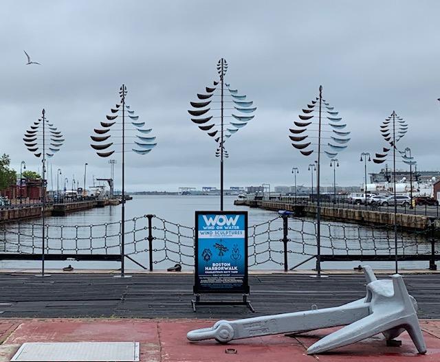 WOW Wind On Water Outdoor Public Art Exhibit