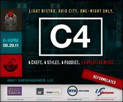 'C4' Reformulated - 4 Chefs. 4 Styles. 4 Foodies. 1...