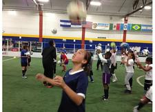 YOUTH SOCCER CLINICS by FIRST TOUCH TRAINING logo