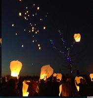 Valentine's Day Memorial Sky Lantern Release