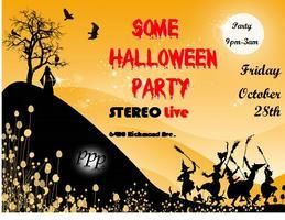 Some Halloween Party At Stereo Live