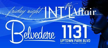 *The INT'L AFFAIR* 09/09/011 Ladies Night at Belvedere