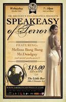 """Dr.Sketchy's Philly presents """"Speakeasy of Terror!"""" with..."""
