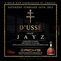 JAY Z ALL STAR WEEKEND EVENT..PRESENTED BY D'USSE COGNAC &...