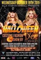 D'OR Halloween Costume Fashion Show@Blue Martini...