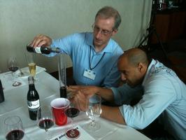 Wine Blending Session