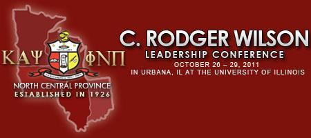 C. Rodger Wilson Leadership Conference