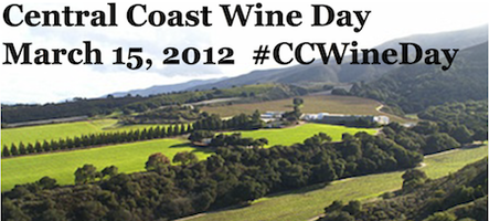 Central Coast Wine Day - March 15th - #CCWineDay...