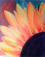 Here comes the Sun...Flower! Painting Soiree class