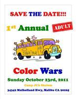 1st Annual Adult Color Wars
