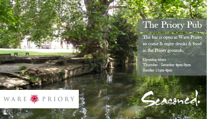 Pub in the Park @ Ware Priory- Friday 17th July