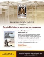 Ebony Repertory Theatre   presents   BACK TO THE...