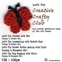 Let's Try: Creative Crafty Club - Crochet taster &...