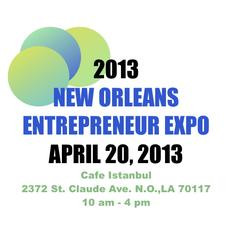 The 2013 New Orleans Entrepreneur Expo - Sponsored By Buckle Me Up Shoes in Association with Natasha Angelety Mangement and Reel Nola Magazine logo