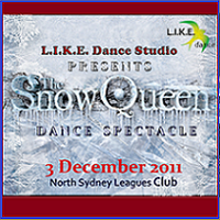 "L.I.K.E. Dance Studio Presents ""The Snow Queen"" Dance..."