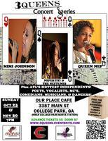 """""""THE 3 QUEENS CONCERT SERIES""""  SUNDAY, NOVEMBER 20 @..."""