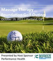Golf Outing to benefit the Massage Therapy Foundation