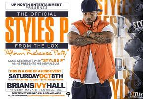 """""""STYLE P """"OFFICIAL ALBUM RELEASE PARTY OCT 8TH IN MA"""
