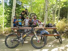 Mountain Bike: Marlette Flume, October 22, 2011