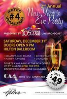 New Years Eve PARTY 105.7 Oasis 2nd Annual Old School...