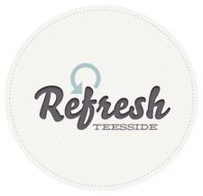 Refresh Teesside logo
