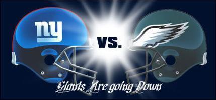 Philadelphia Eagles vs. New York Giants NFL Game at...