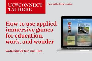 UC Connect public lecture: How to use applied...