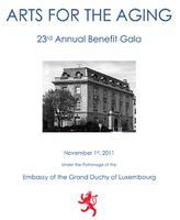 23rd Annual Gala to Benefit    Arts for the Aging