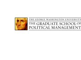 GW Graduate School of Political Management Optional...