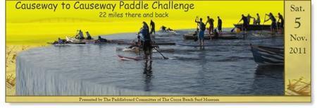 2011 Causway to Causeway (C2C) Paddle Challenge