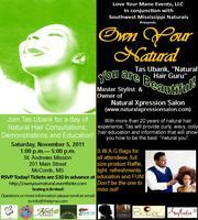 Own Your Natural in Southwest Mississippi 11/2011