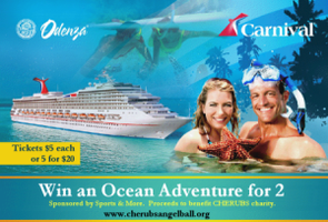 2011 CDH Raffle - Carnival Cruise for Two!  Tickets...