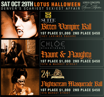 Lotus Clubs Halloween Event Saturday, October 29th