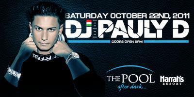 DJ Pauly D at The Pool at Harrahs