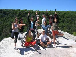 Mountain Top Yoga and Light Hike