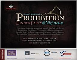 'Second Annual Prohibition Party'
