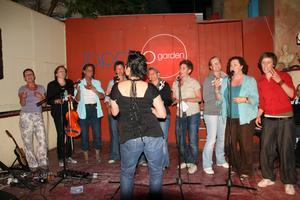 Lesbos 2011 Travel Women Singing Workshop