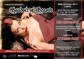 Pukka PR Presents Boudoir of Beasts - Halloween...
