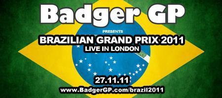 Brazilian F1 Grand Prix  LIVE in London