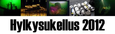 Hylkysukellus 2012 Wreck Diving