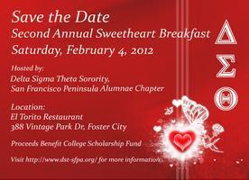 Delta Sigma Theta Inc. Sweetheart Breakfast & Auction...