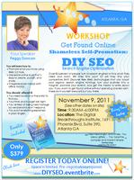 Workshop: Shameless Self Promotion: DIY SEO (Search...