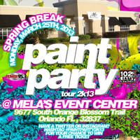 Paint Party 2K13 Tour