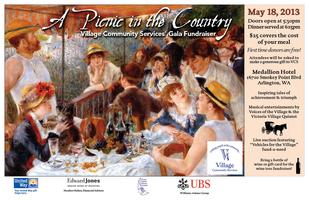 """The Village Gala:  """"A Picnic in the Country"""""""